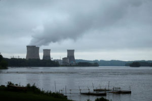 The Three Mile Island Nuclear power plant is pictured from Royalton, Pennsylvania, U.S. May 30, 2017. Photo by Carlo Allegri/Reuters