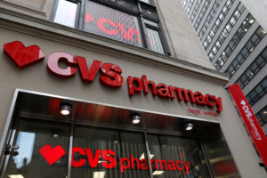 A CVS Pharmacy store is seen in the Manhattan borough of New York City, New York, U.S., November 30, 2017. Photo by: Shannon Stapleton/Reuters