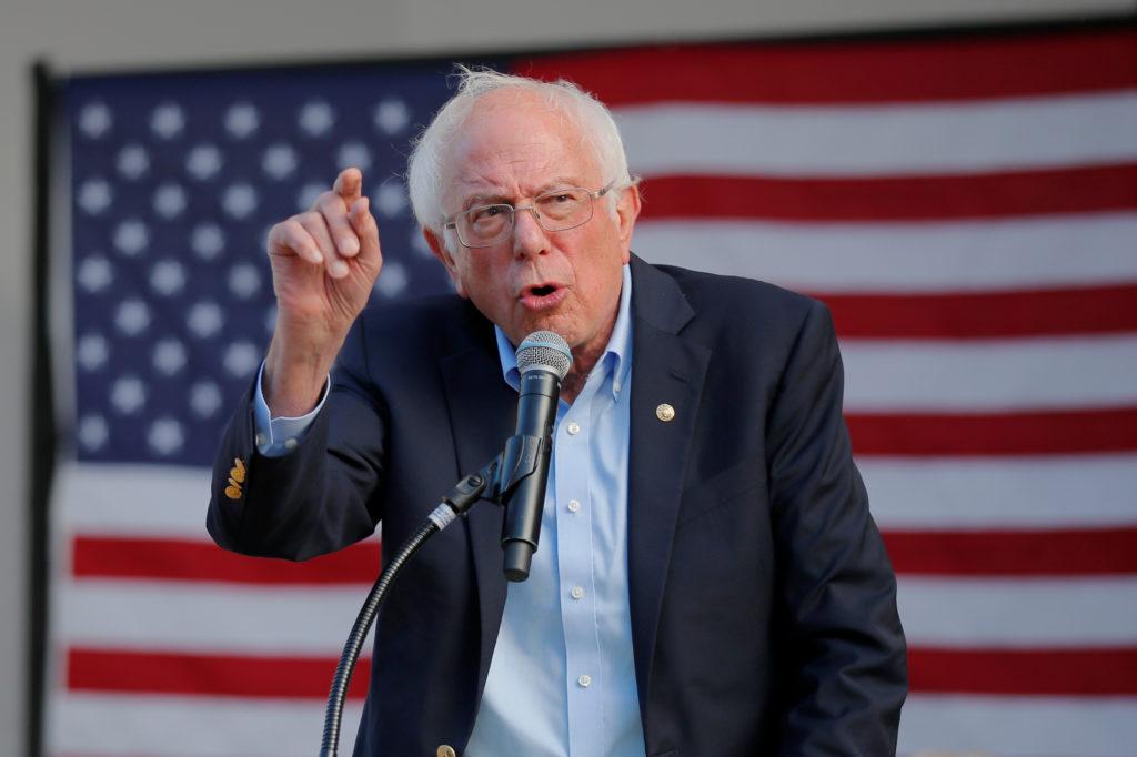 Democratic 2020 U.S. presidential candidate and U.S. Senator Bernie…