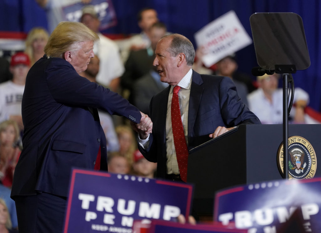North Carolina special election tests Trump and GOP's 2020