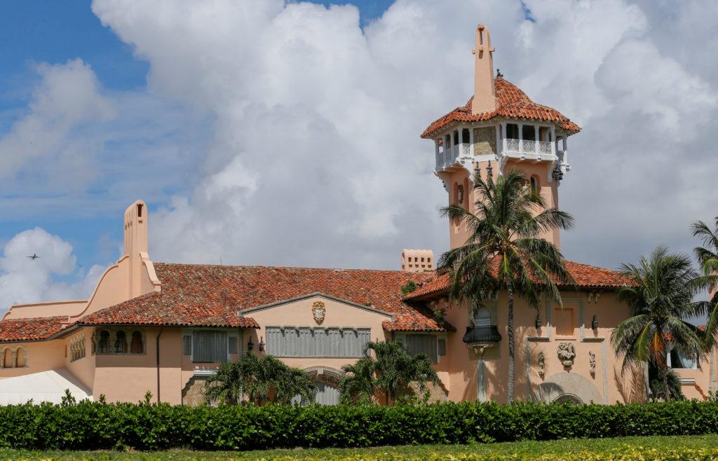 U.S. President Donald Trump's Mar-a-Lago Club is shown in Palm Beach, Florida, U.S., August 31, 2019. Photo by: Joe Skipper/File Photo/Reuters