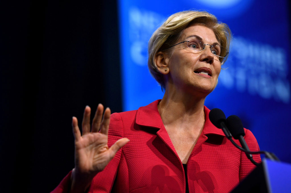 Warren unveils plan to crack down on government corruption