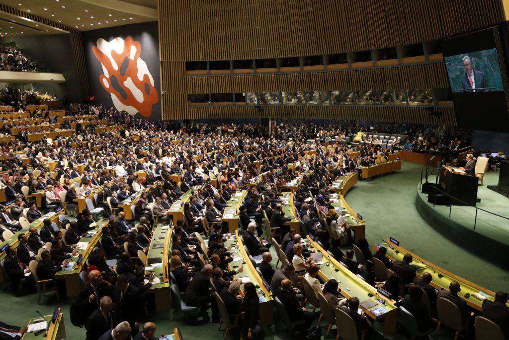 United Nations Secretary General Antonio Guterres addresses the ope…