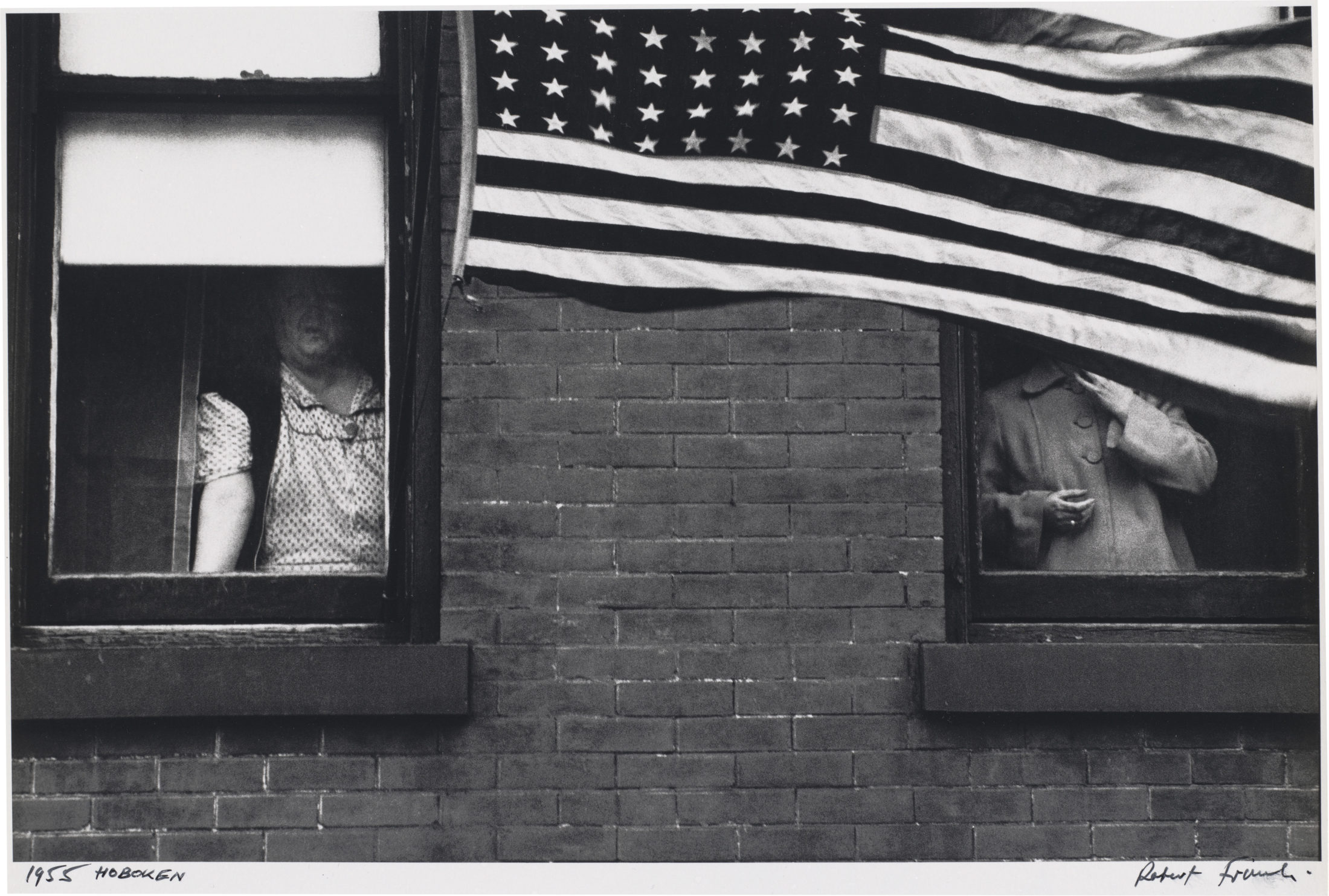"""Parade - Hoboken, New Jersey,"" (1955) by Robert Frank, from ""The Americans."" Photo courtesy of National Gallery of Art"