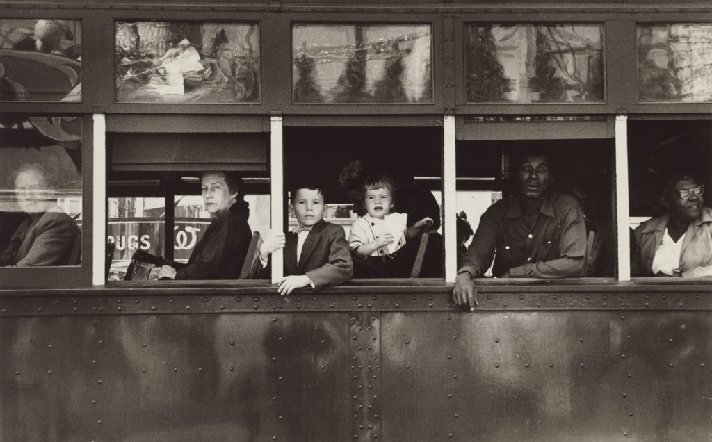 A trolley in New Orleans, 1955 © Robert Frank, from The Americans Courtesy: National Gallery of Art