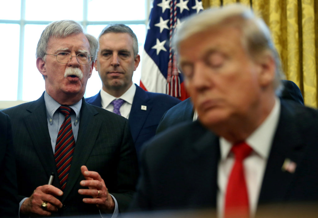 'We'll see what happens': Trump on possible easing of Iran policy