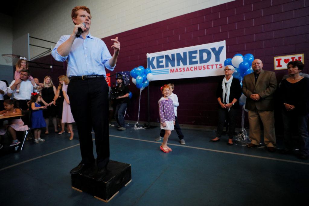 Rep. Joe Kennedy formally announces US Senate campaign