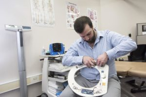 Could a toilet seat help prevent hospital readmissions? An everyday toilet seat built to capture vital medical data.
