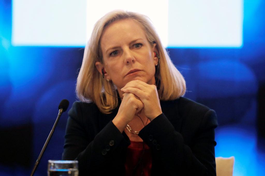 U.S. Secretary of Homeland Security Kirstjen Nielsen takes part in …