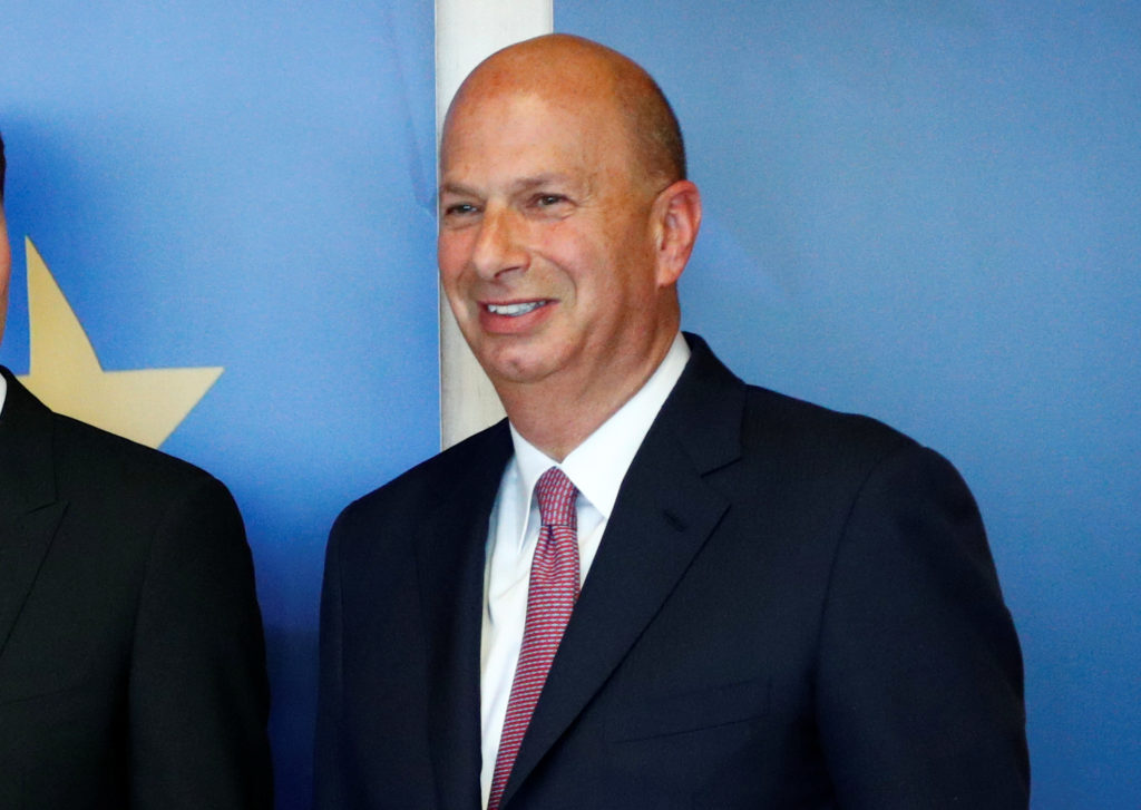 U.S. Ambassador to the EU Gordon Sondland at the EU Commission head…