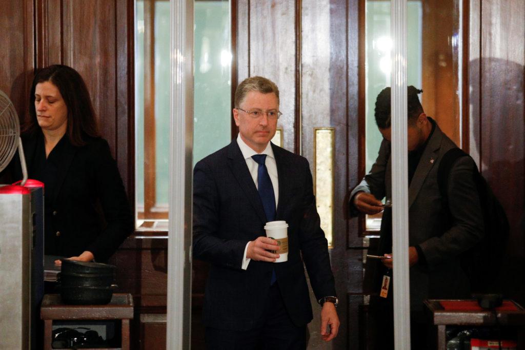 Kurt Volker, President Donald Trump's former envoy to Ukraine arriv…