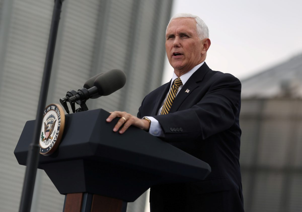 pbs.org - Associated Press - Dispatched to Mideast, Pence says U.S. won't 'tolerate' Turkish attacks on Kurds