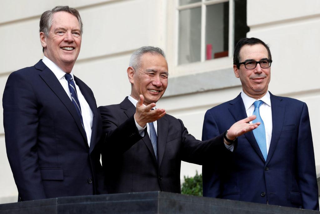 U.S. suspends China tariff hike in trade war cease-fire
