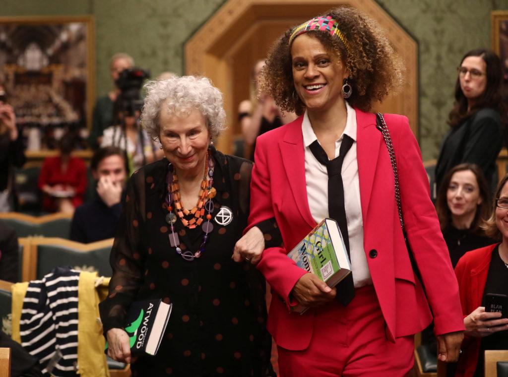 Margaret Atwood, Bernardine Evaristo share Booker Prize