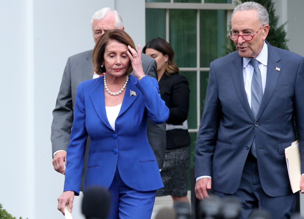 Contentious Meeting At The White House Ends In Dems Walking