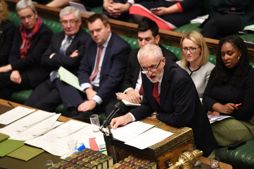 FILE PHOTO: Britain's opposition Labour Party Leader Jeremy Corbyn …