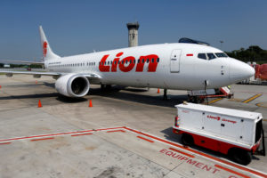 FILE PHOTO: Lion Air's Boeing 737 Max 8 airplane is parked on the tarmac of Soekarno Hatta International airport near Jakarta, Indonesia, March 15, 2019. Photo by Willy Kurniawan/Reuters