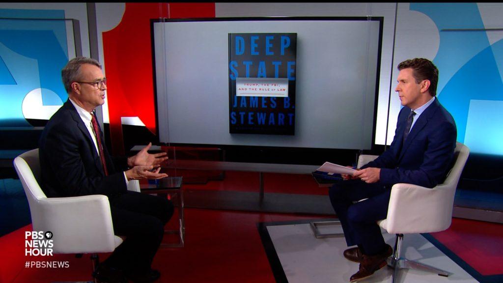 How 'Deep State' book disputes accusations of Trump bias at FBI, DOJ