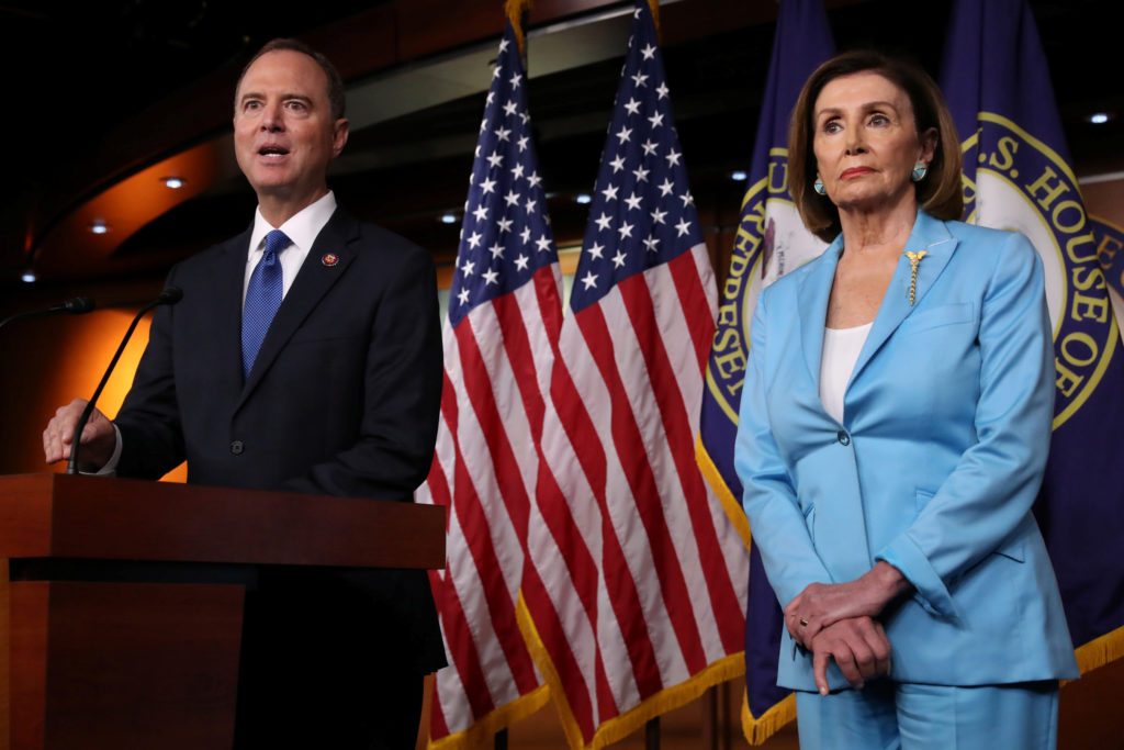 As impeachment ramps up, Democrats and Republicans both face risks | PBS  NewsHour