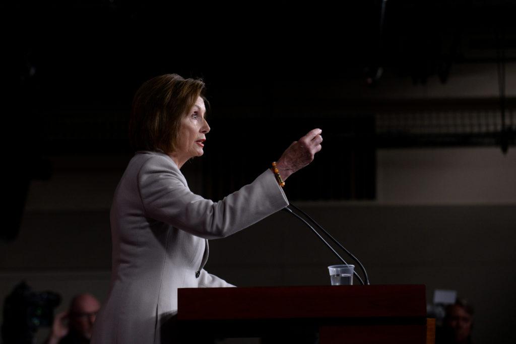 Pelosi in Jordan for 'vital discussions' amid Syria crisis