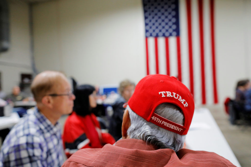 Local Republican Party officials and volunteers gather for a leadership training session in Waukesha, Wisconsin, U.S., September 7, 2019. Picture taken September 7, 2019. Photo by Brian Snyder/Reuters