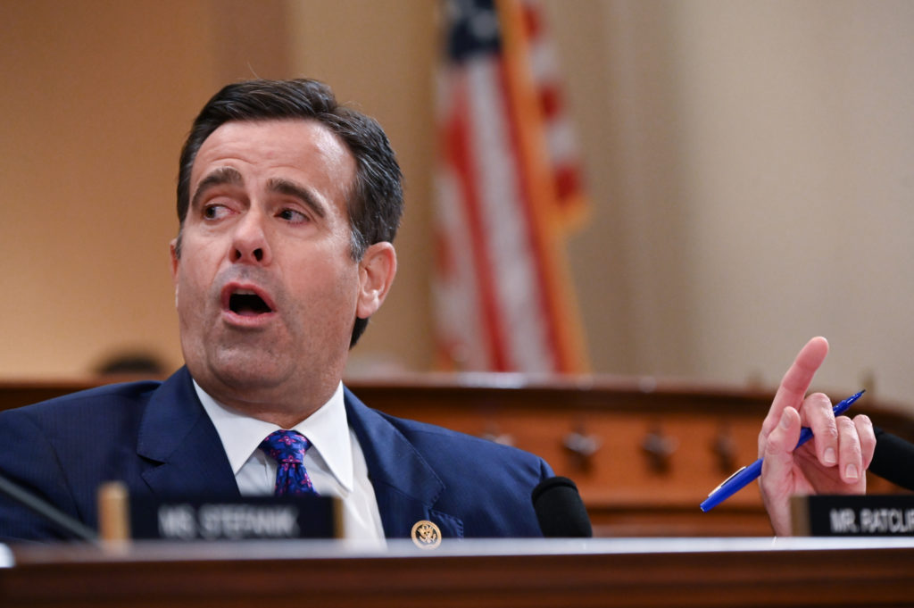 Rep. John Ratcliffe (R-TX) speaks during a House Intelligence Committee impeachment inquiry hearing into U.S. President Do...
