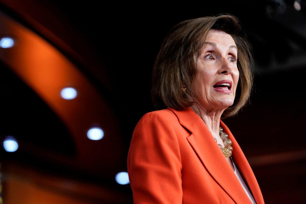 On Ukraine, Pelosi says Trump undermined national security