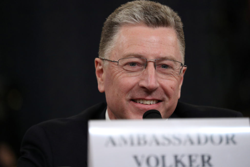Volker confirms meeting where Sondland discussed 'investigations'