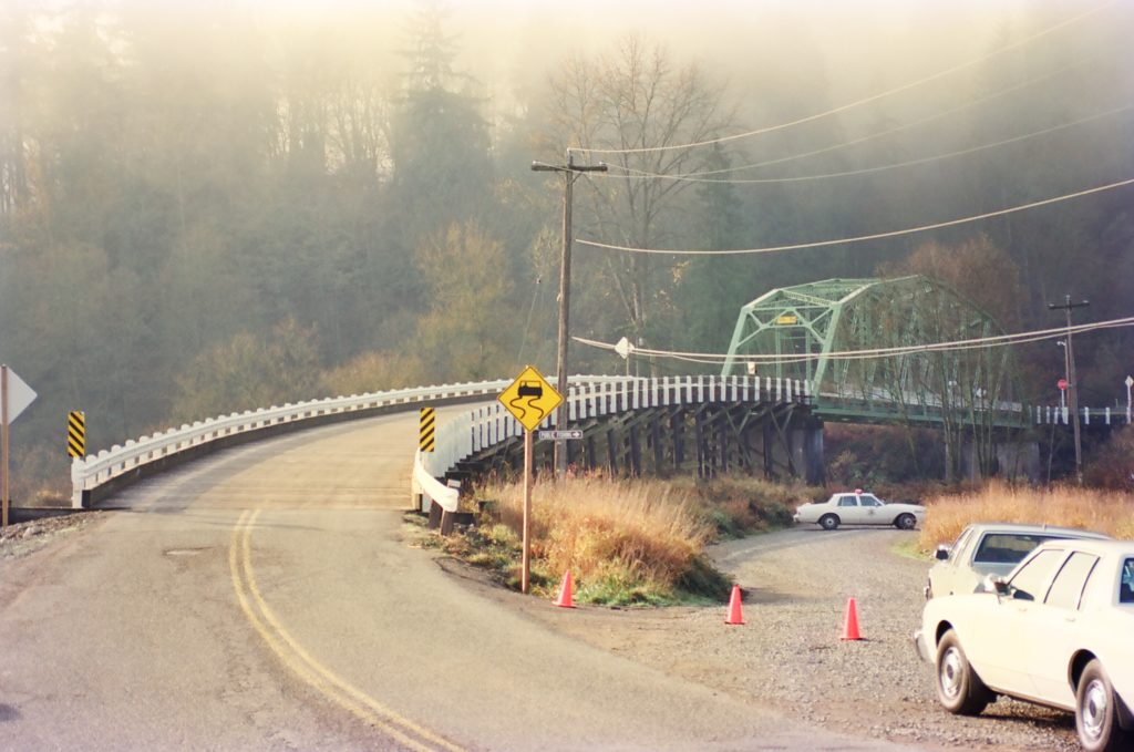 High Bridge in 1987, where 20-year-old Jay Cook's body was discover…