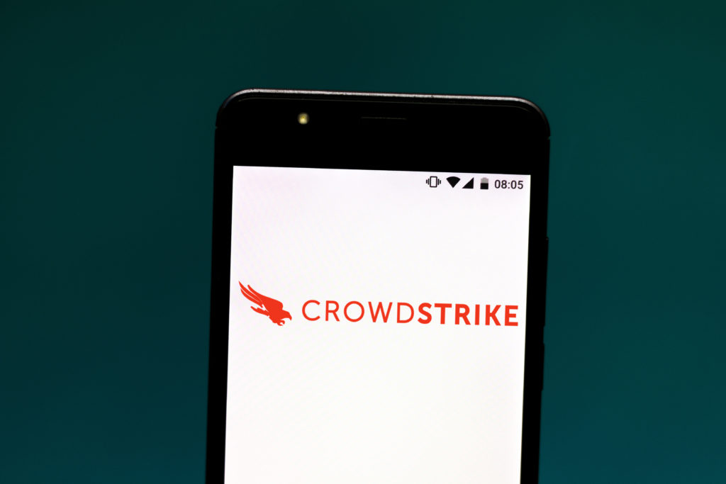 CrowdStrike is a California cybersecurity company that investigated how the Russian government hacked into the Democratic National Committee network and leaked emails ahead of the 2016 presidential election. A debunked conspiracy theory about CrowdStrike has been invoked in the ongoing impeachment proceedings. Photo Illustration by Rafael Henrique / SOPA Images / LightRocket via Getty Images