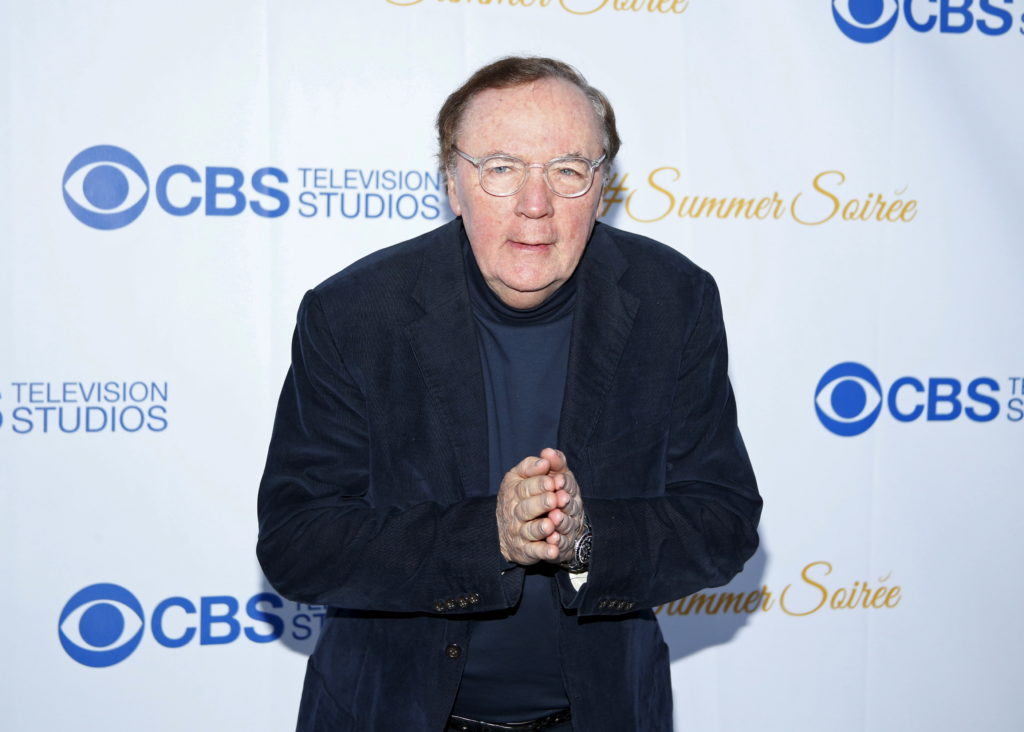 Author James Patterson is one of four recipients of the National Humanities Medal. Photo by REUTERS/Danny Moloshok
