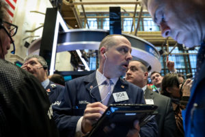 Health care and technology stocks powered most of the broad rally, which helped drive the S&P 500 to its sixth straight weekly gain. The Dow extended its streak of weekly gains to four. Photo by REUTERS/Brendan McDermid