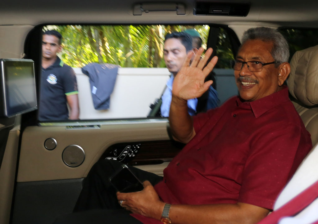 Former Sri Lankan defense chief wins presidential vote