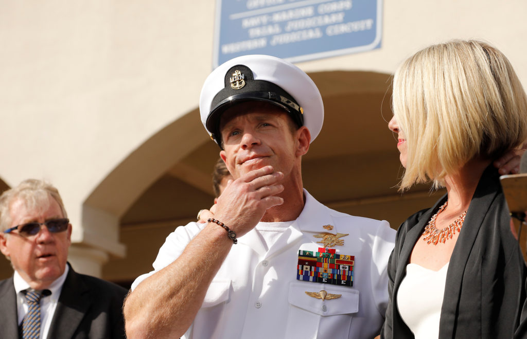 The fallout from Trump's intervention in Navy SEAL discipline case