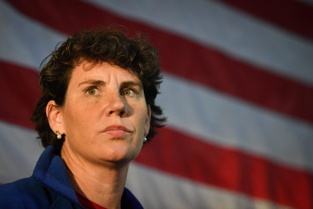 Amy McGrath files to challenge Mitch McConnell in Senate race