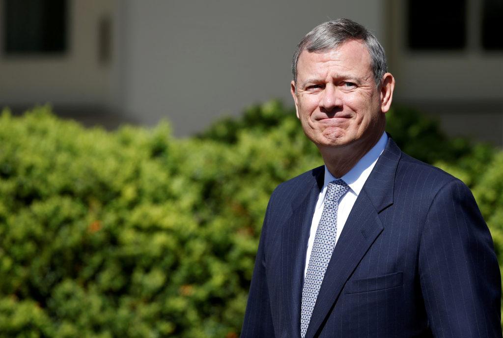 FILE PHOTO: U.S. Supreme Court Chief Justice John Roberts arrives f…