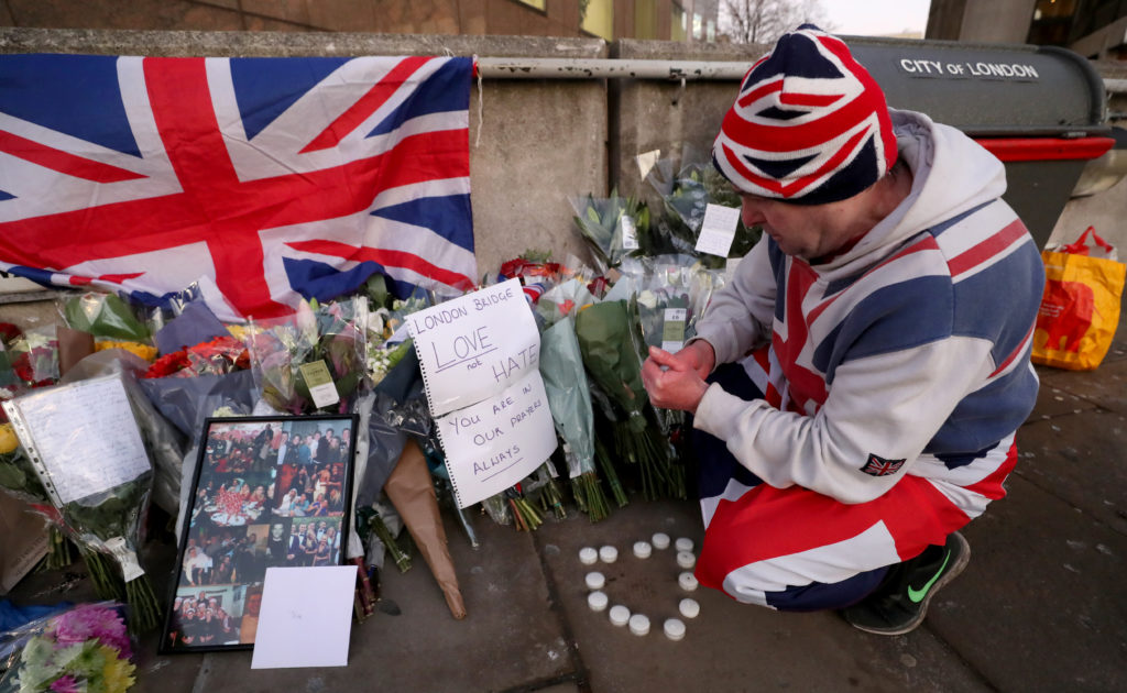 UK politicians trade blame over London knife attack