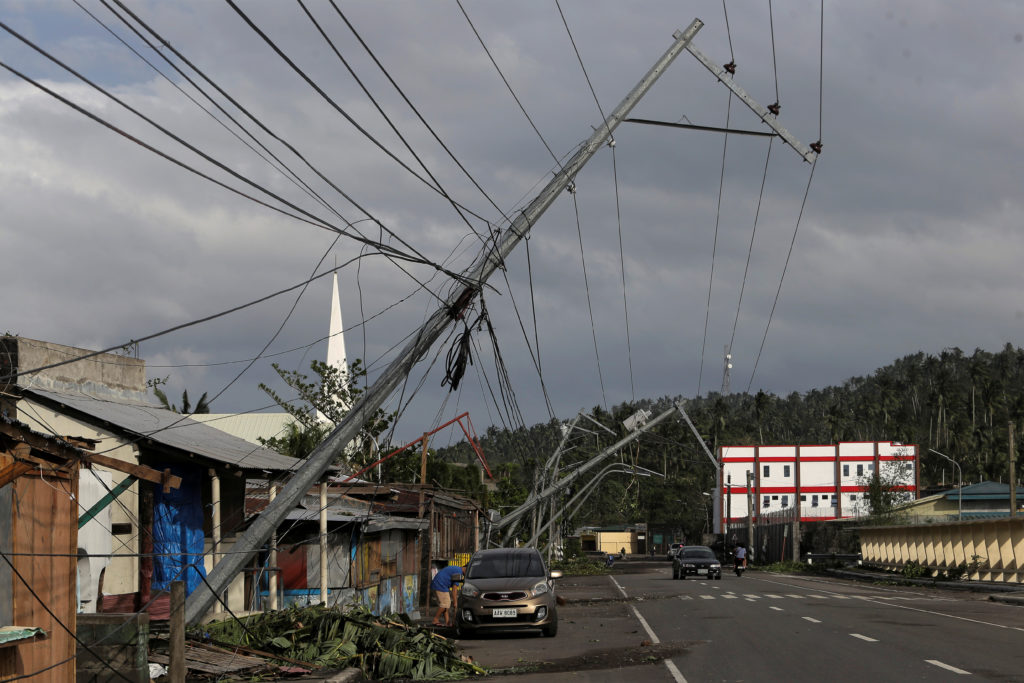A view of a devastated area after Typhoon Kammuri hit Camalig town, Philippines, December 3, 2019. Photo by Nino Luces/Reu...