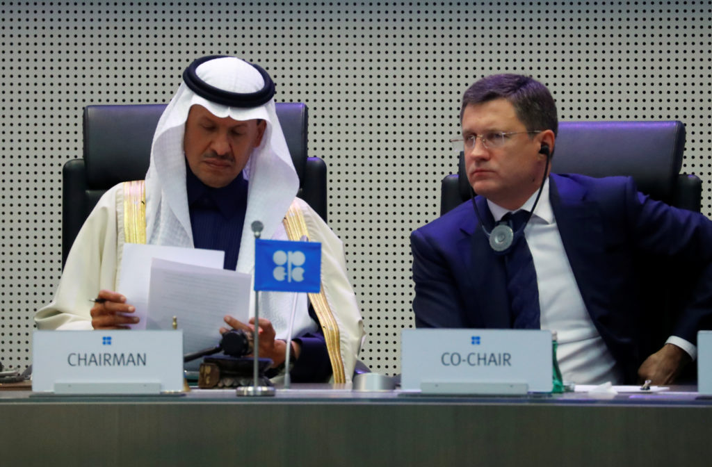 OPEC nations and Russia agree to cut oil output to lift prices