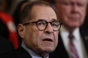 U.S. House Judiciary Committee Chairman Jerrold Nadler (D-NY) speaks at a news conference ahead of a vote on the Voting Rights Advancement Act, on Capitol Hill in Washington, U.S., December 6, 2019. REUTERS/Loren Elliott