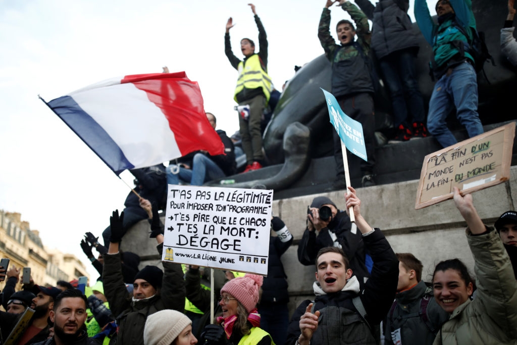 French government ups retirement age as strikes grind on