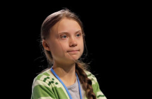 Climate change activist Greta Thunberg attends the High-Level event on Climate Emergency during the U.N. Climate Change Conference (COP25) in Madrid, Spain December 11, 2019. Photo by Susana Vera/Reuters