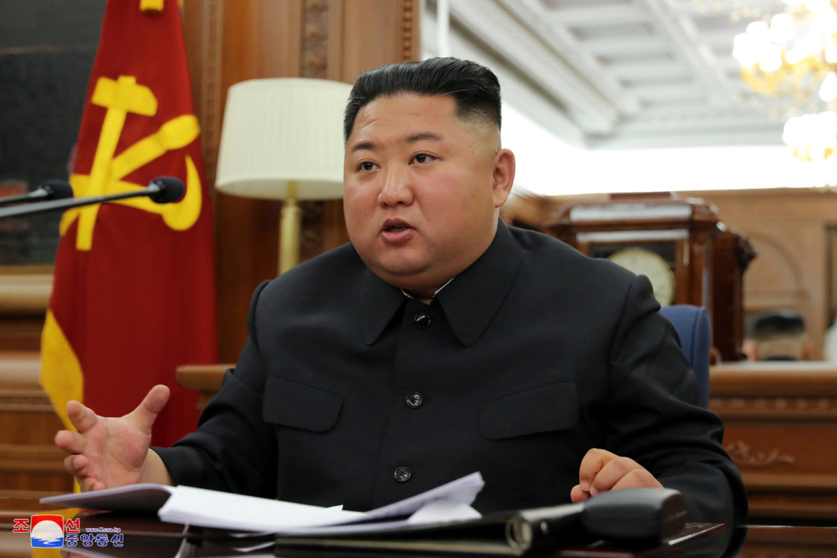North Korea's state-run media reports on Kim, but no public appearance