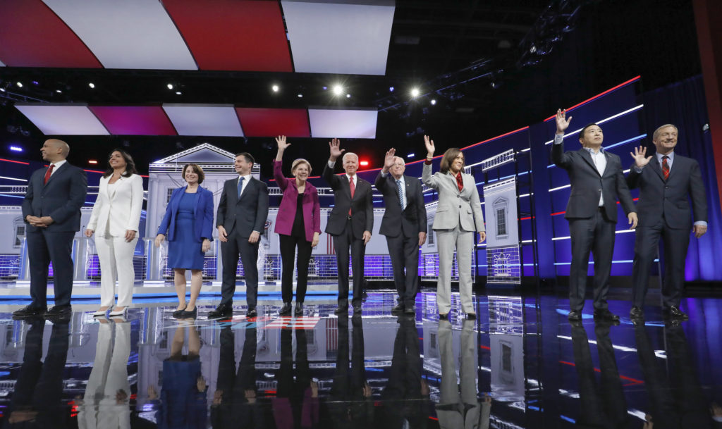 2020 Democrats compete over transparency as next debate approaches