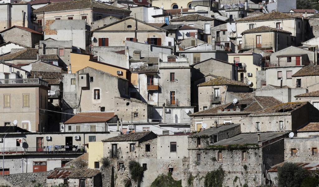 Riace was once a beacon for immigrants, now it's a ghost town