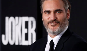 "Joaquin Phoenix attends the premiere for the film ""Joker"" in Los Angeles, California. Photo by Mario Anzuoni/Reuters"