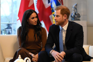 Britain's Prince Harry and his wife Meghan, Duchess of Sussex visit Canada House in London, Britain January 7, 2020. Photo by Daniel Leal-Olivas/Pool via Reuters