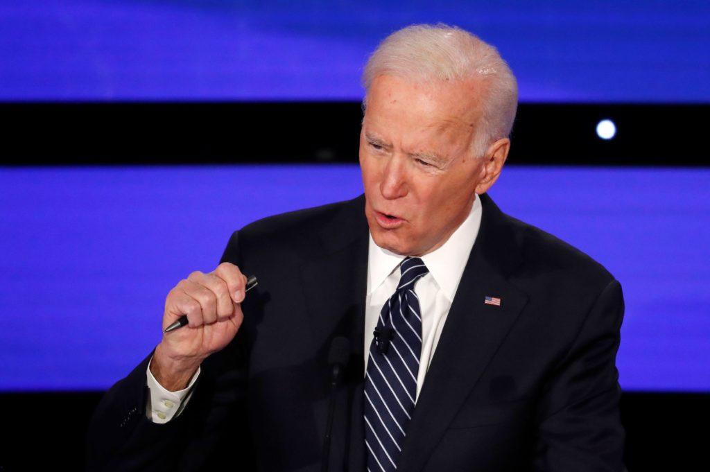 Democratic 2020 U.S. presidential candidate former Vice President J…