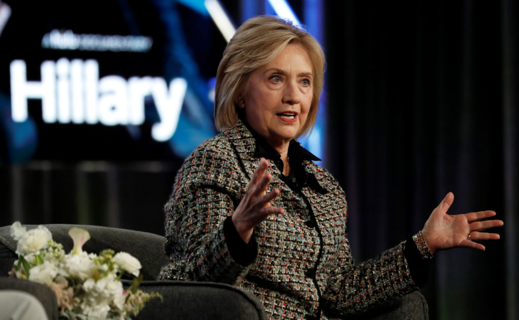 'Nobody likes him,' Hillary Clinton says of presidential candidate Bernie Sanders