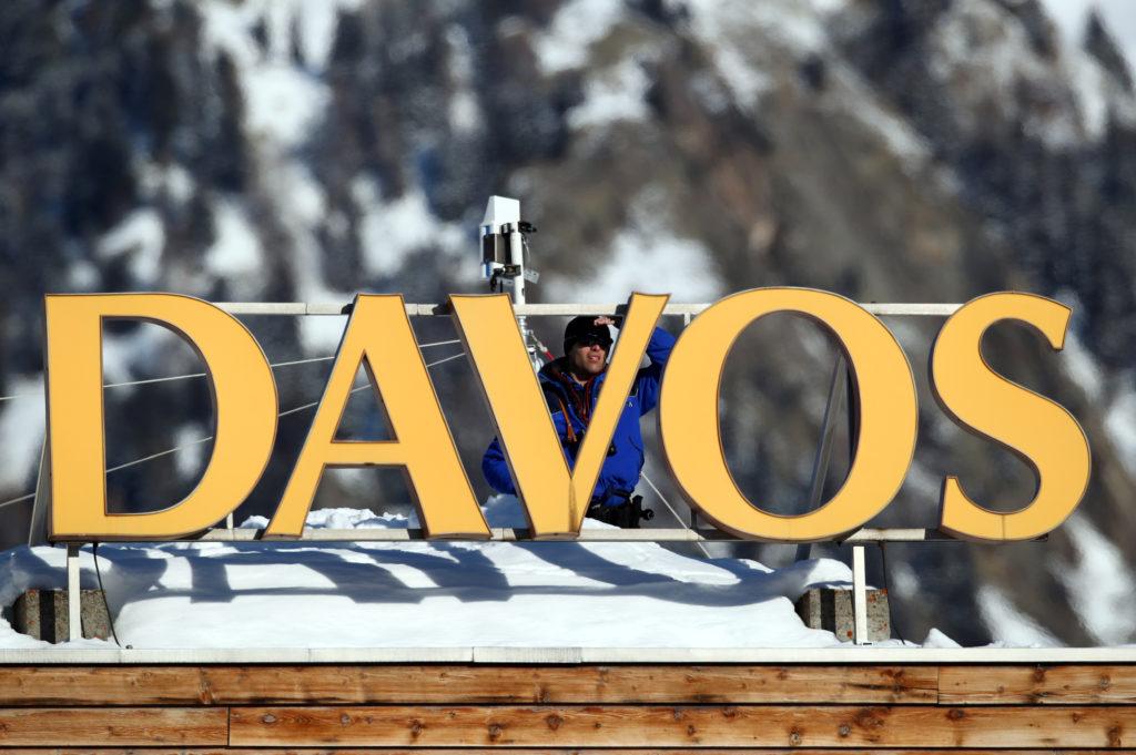 Trump heads to Davos as Senate readies for impeachment trial